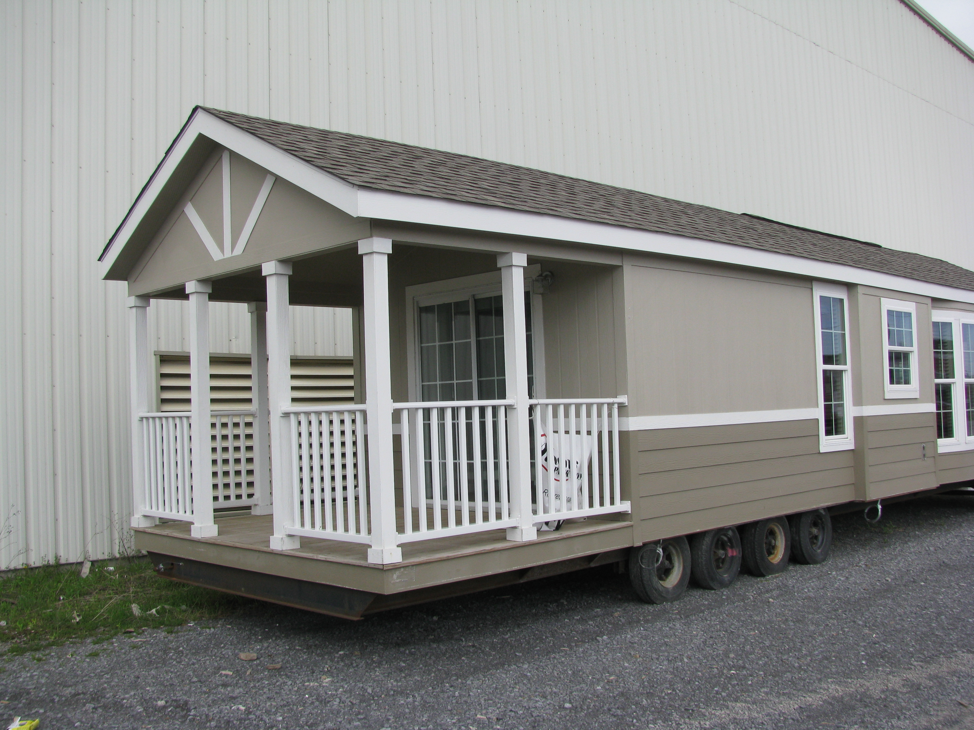 Park Model Campers | Woodframe Structures