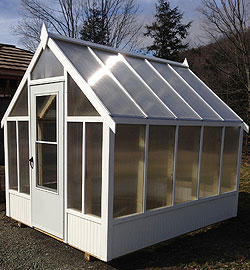 Woodframe-structures Greenhouses